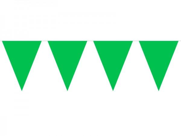 Wimpelkette grün 10m