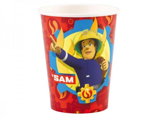 Partybecher Feuerwehrmann Sam Pappbecher