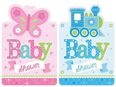 Babyparty & Baby Shower Einladungen