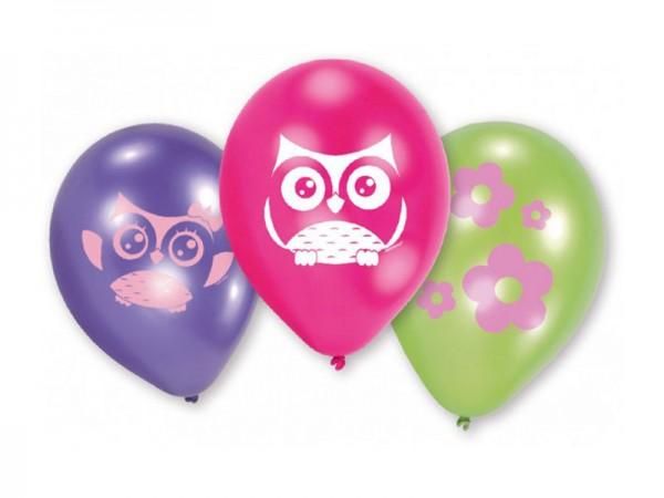 Luftballons Eule