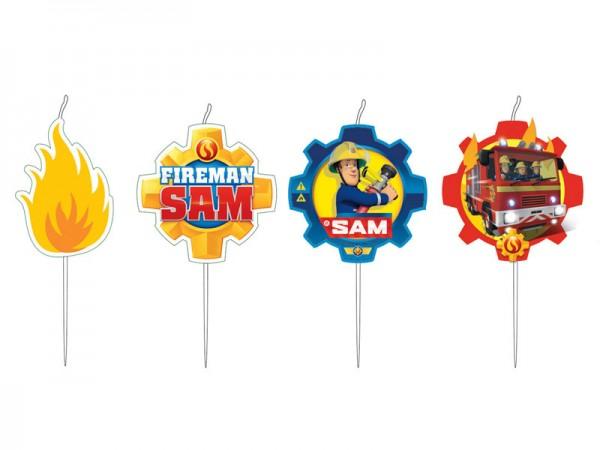 Geburtstagskerzen Feuerwehrmann Sam Kerzen