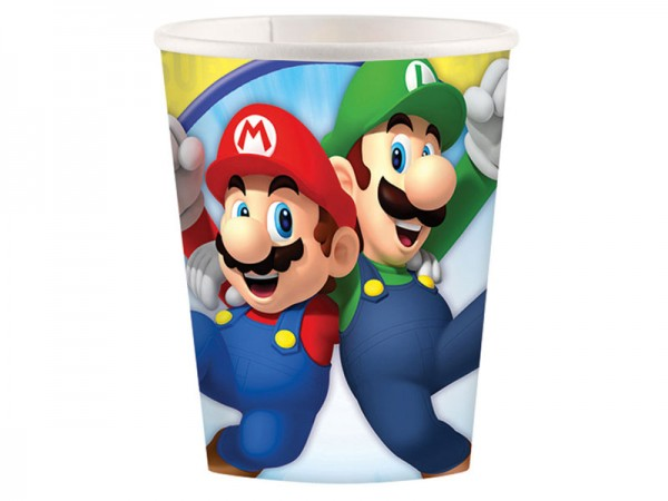 Partybecher Super Mario Pappbecher
