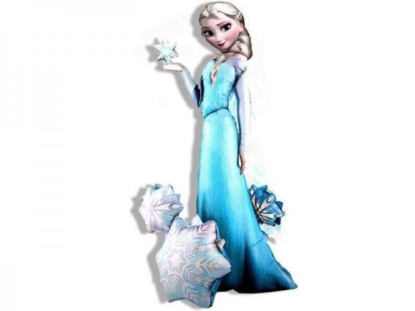 Folienballon XXL Frozen Elsa, Airwalker