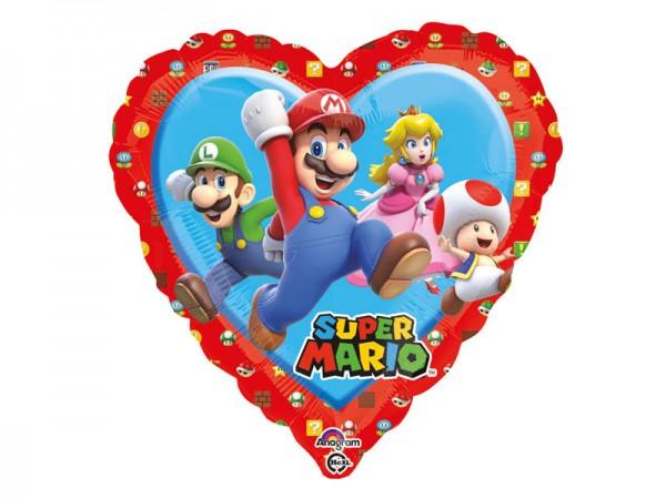 Folienballon Super Mario Ballon