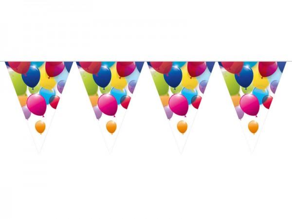 Wimpelkette Luftballons