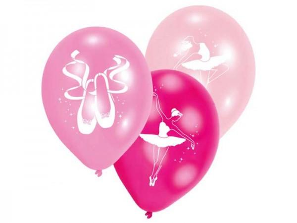 Luftballons Ballerina Ballett Latexballons