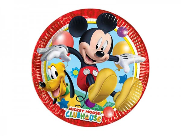 Pappteller Mickey Mouse Partyteller