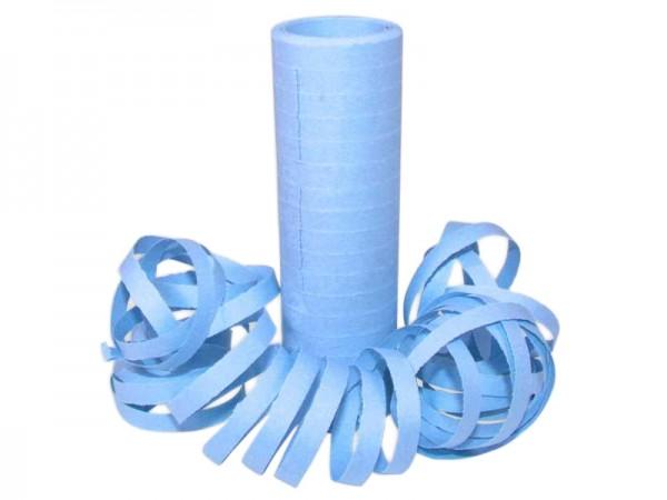 Luftschlangen hellblau