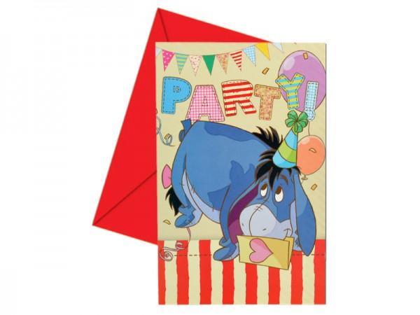 Geburtstagseinladungen Winnie Puuh Einladungskarten Kindergeburtstag
