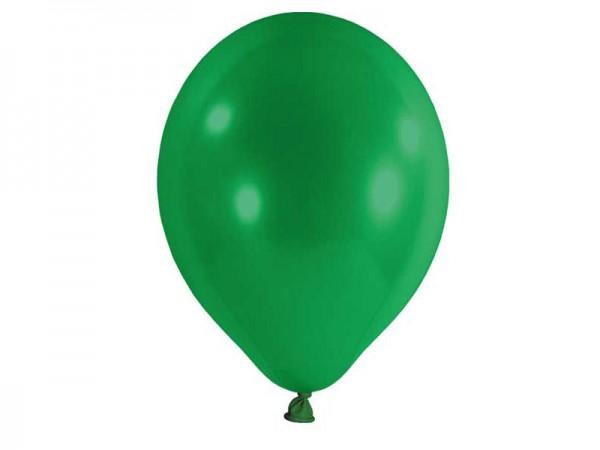Luftballons grün Latexballons