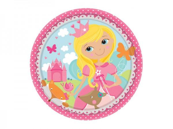 Pappteller Prinzessin Prinzessinnen Partyteller