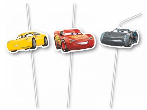 Strohhalme Cars Autos Trinkhalme