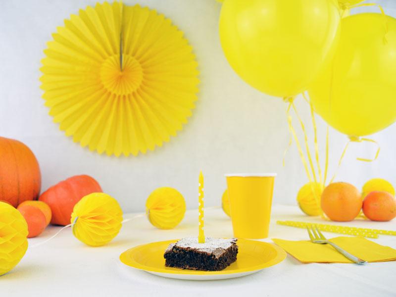 Brownies für die Geburtstagsparty
