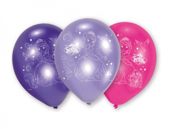 Luftballons Sofia die Erste Ballons