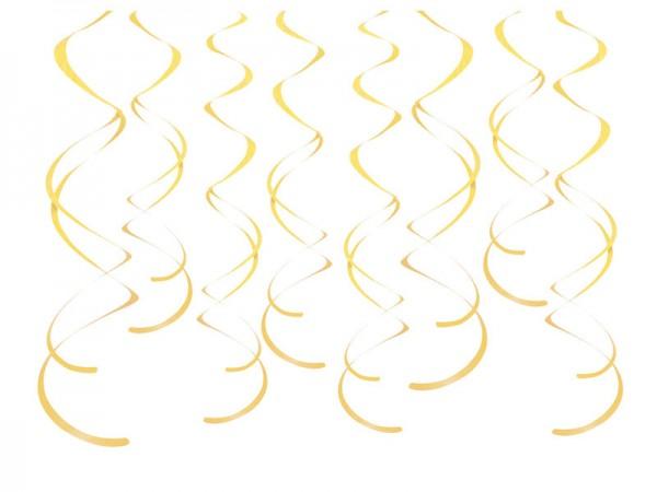 Dekospiralen gelb Spiralen