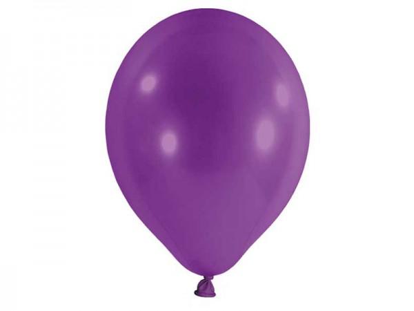 Luftballons lila Latexballons