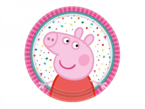 Pappteller Peppa Wutz Partyteller Peppa Pig