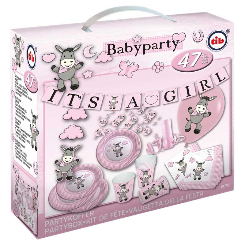 Babyparty Deko für Mädchen