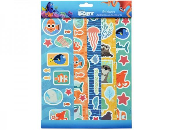 Sticker Findet Nemo und Findet Dorie Aufkleber