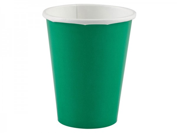 Partybecher grün Pappbecher