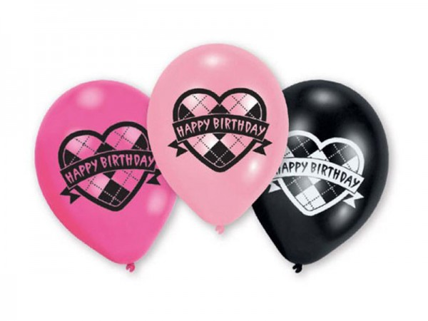 Luftballons Happy Birthday Ballons