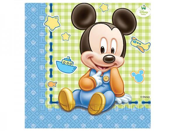 Servietten Baby Mickey Mouse