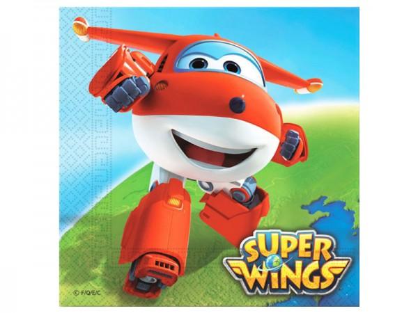 Servietten Super Wings