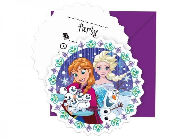 Geburtstagseinladungen Frozen Die Eiskönigin Einladungskarten Kindergeburtstag