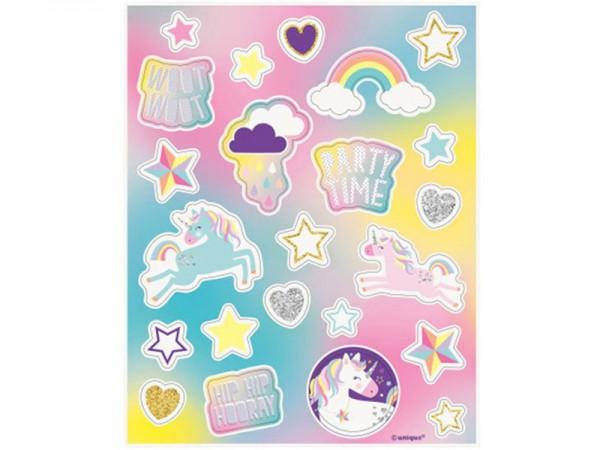 Sticker Einhorn Aufkleber Unicorn