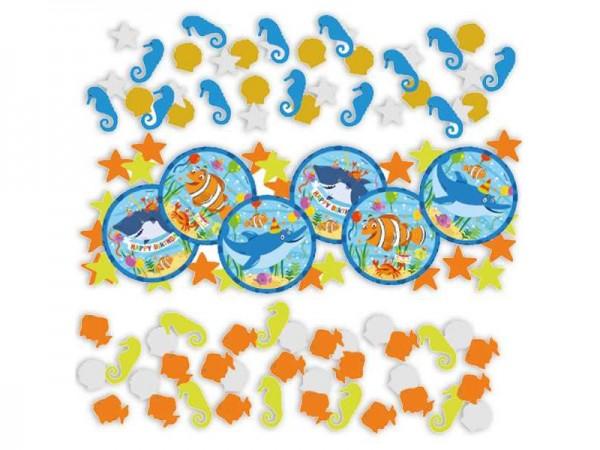 Konfetti Ocean Buddies Streukonfetti Unterwasserwelt