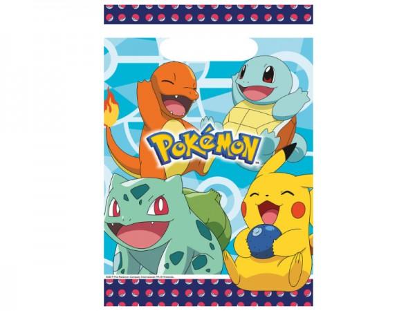 Mitgebseltüten Pokemon Geschenktüten Pikachu Partytüten