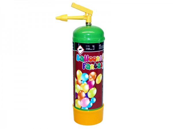 Helium, Einwegflasche Luftballongas