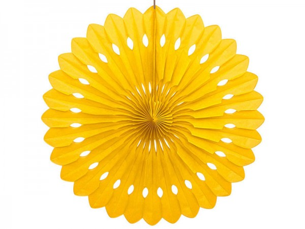 Dekofächer gelb 40cm