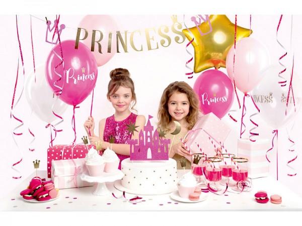 Geburtstagsdeko Set Princess Partydeko Set für Kindergeburtstag