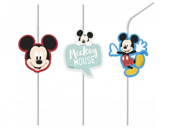 Strohhalme Mickey Mouse Trinkhalme