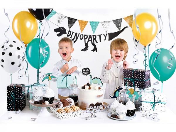 Geburtstagsdeko Set Dinosaurier Partydeko Set für Kindergeburtstag