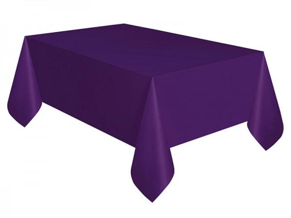Tischdecke lila Tischtuch