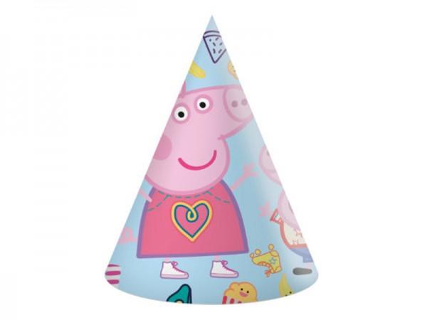 Partyhüte Peppa Wutz für die Peppa Pig Party