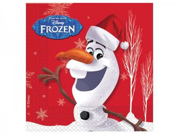 Servietten Frozen Olaf