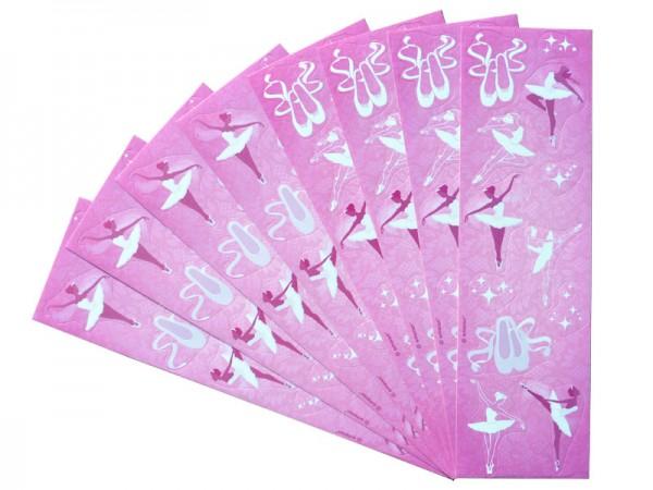 Sticker Ballerina Aufkleber Ballett