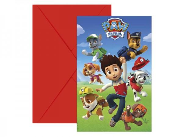 Geburtstagseinladungen Paw Patrol Einladungskarten Kindergeburtstag