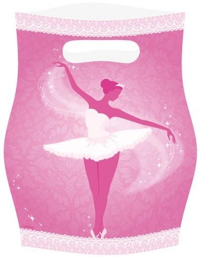 Partygeschenkstüten Ballerina
