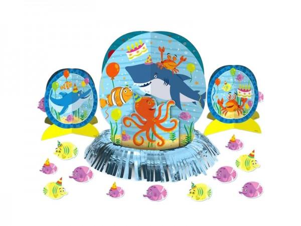 Tischdeko-Set Ocean Buddies Unterwasserwelt Tischaufsteller