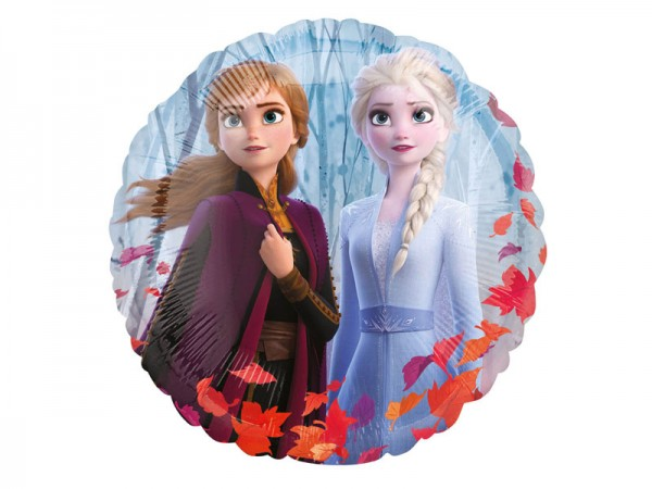 Folienballon Frozen 2 Ballon Elsa und Anna