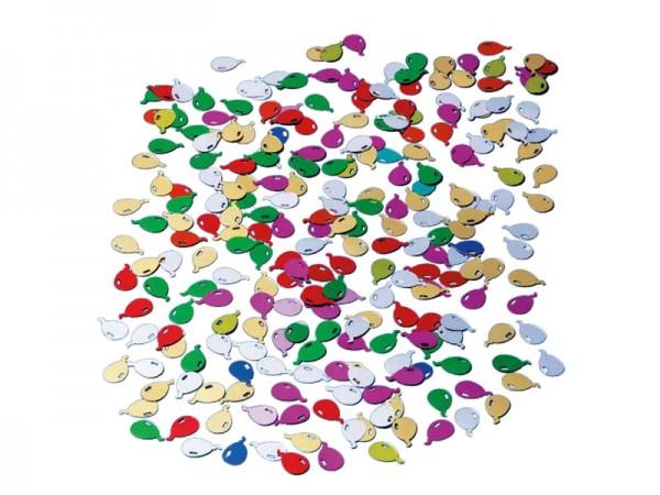 Konfetti in Luftballonform Streukonfetti Luftballons