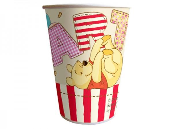 Partybecher Winnie Puuh Pappbecher Winnie Pooh