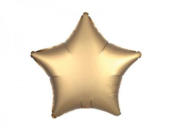Folienballon Stern gold