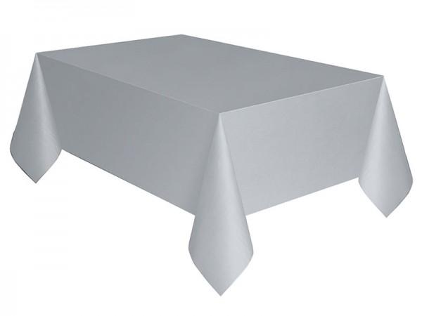 Tischdecke silber Tischtuch