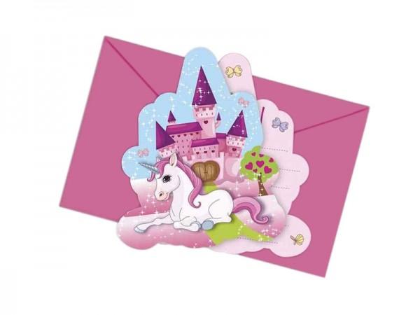 Geburtstagseinladungen Einhorn Einladungskarten Unicorn Kindergeburtstag