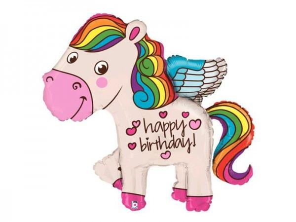 Folienballon Pegasus Pferd